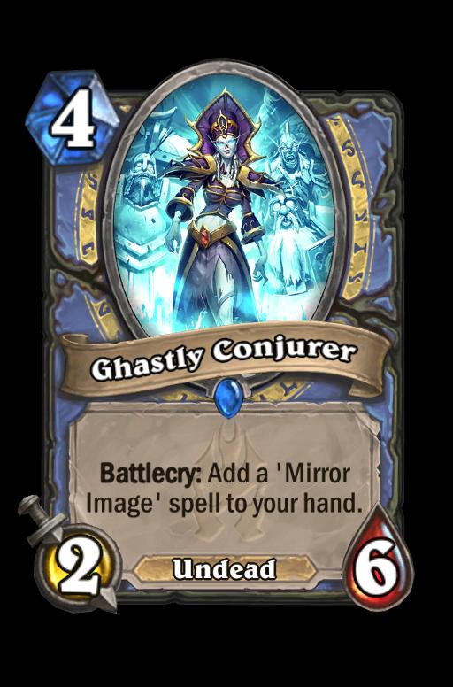 Ghastly Conjurer Hearthstone kártya