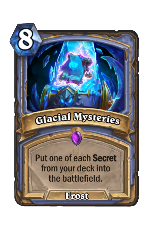 Glacial Mysteries