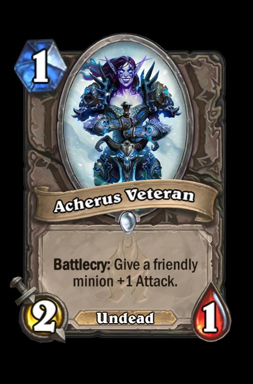 Acherus Veteran Hearthstone kártya