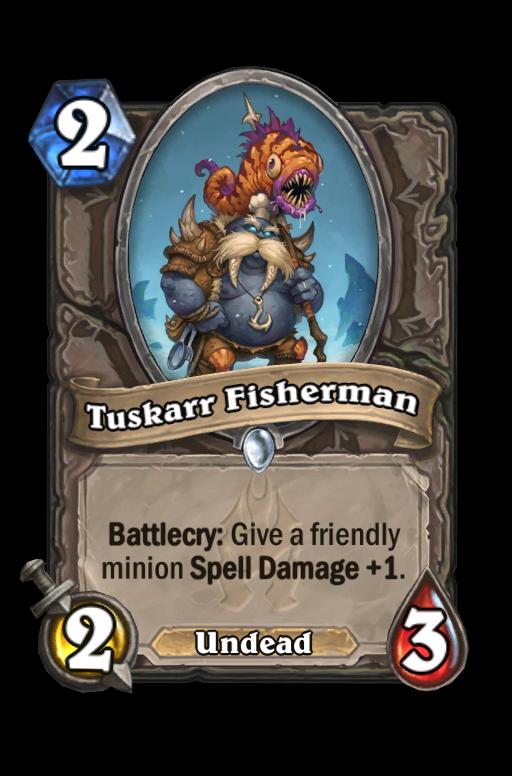 Tuskarr Fisherman Hearthstone kártya
