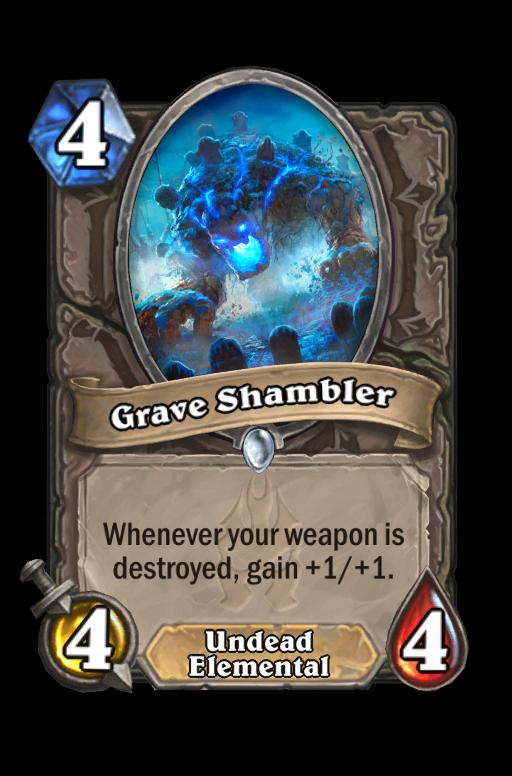 Grave Shambler Hearthstone kártya