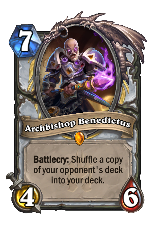 Archbishop Benedictus Hearthstone kártya