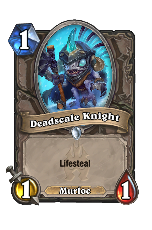 Deadscale Knight Hearthstone kártya