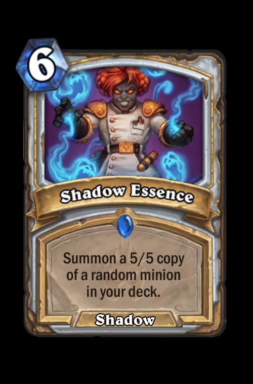 Shadow Essence Hearthstone kártya