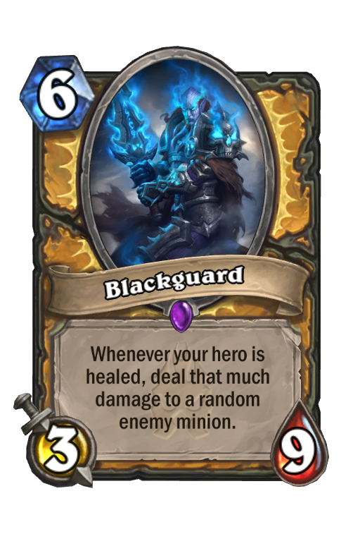 Blackguard Hearthstone kártya