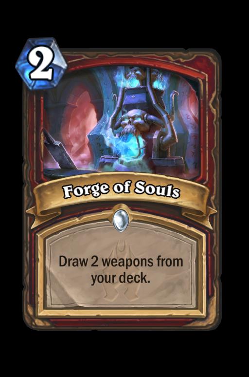 Forge of Souls Hearthstone kártya