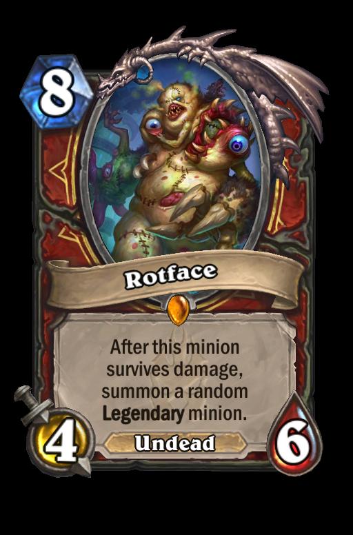 Rotface Hearthstone kártya