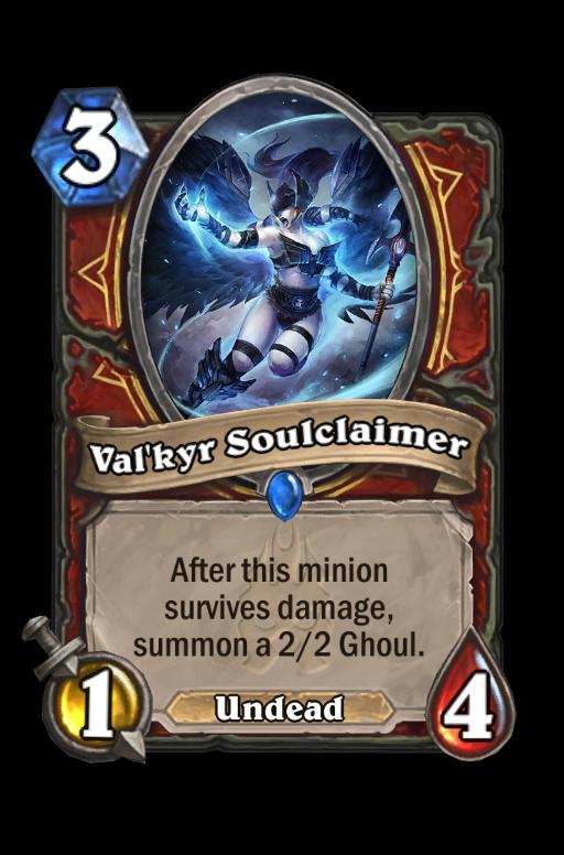 Val'kyr Soulclaimer Hearthstone kártya