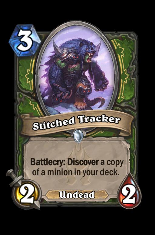 Stitched Tracker Hearthstone kártya