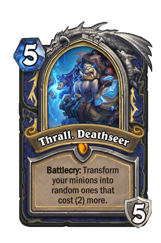 Thrall, Deathseer Hearthstone kártya