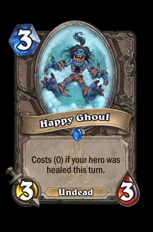 Happy Ghoul Hearthstone kártya