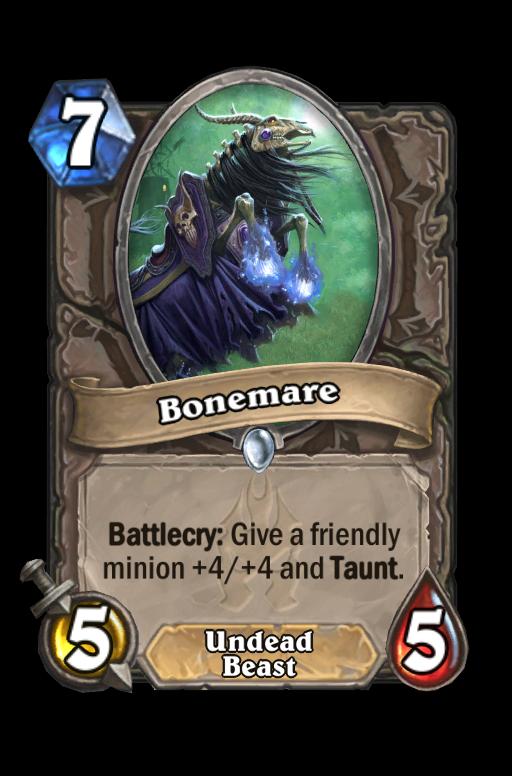 Bonemare Hearthstone kártya