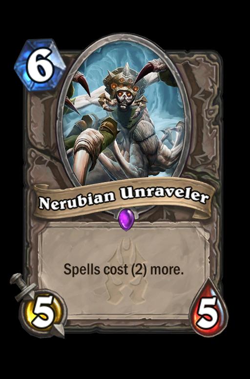 Nerubian Unraveler Hearthstone kártya