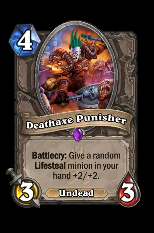 Deathaxe Punisher Hearthstone kártya