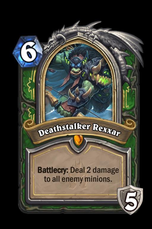 Deathstalker Rexxar Hearthstone kártya