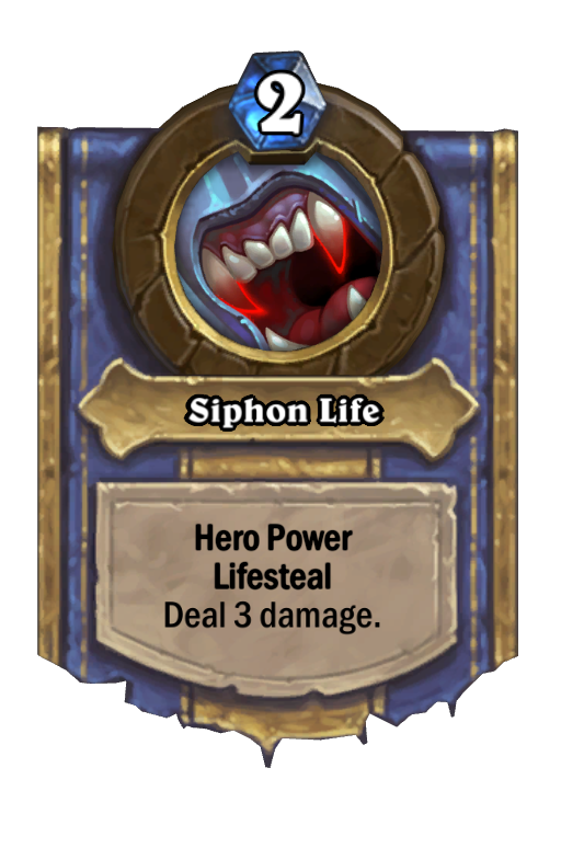 Siphon Life Hearthstone kártya