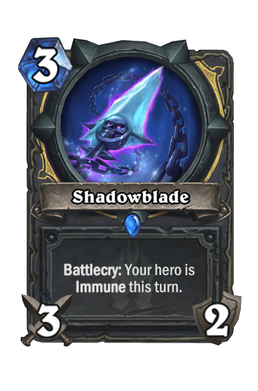 Shadowblade Hearthstone kártya