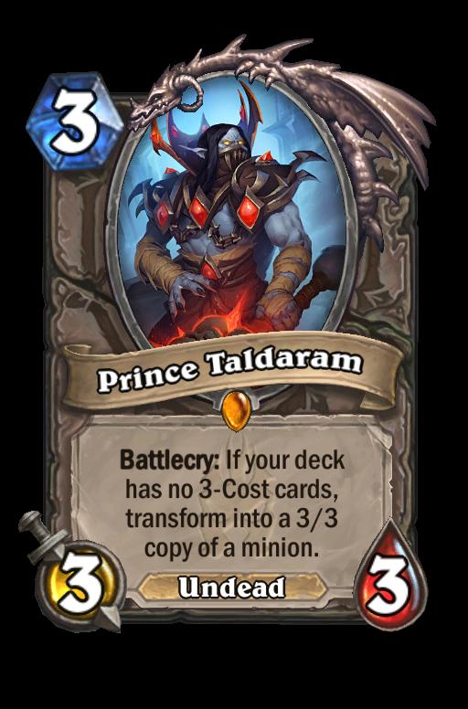 Prince Taldaram Hearthstone kártya