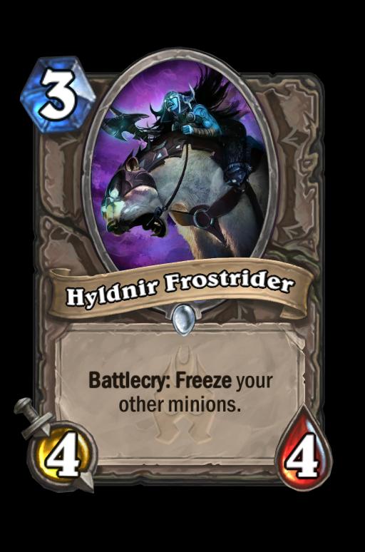 Hyldnir Frostrider Hearthstone kártya