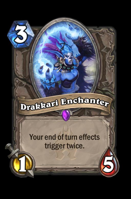 Drakkari Enchanter Hearthstone kártya
