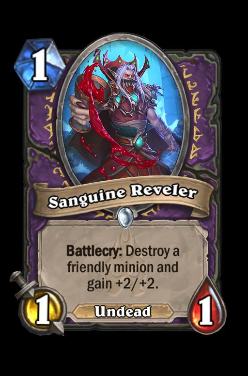 Sanguine Reveler Hearthstone kártya