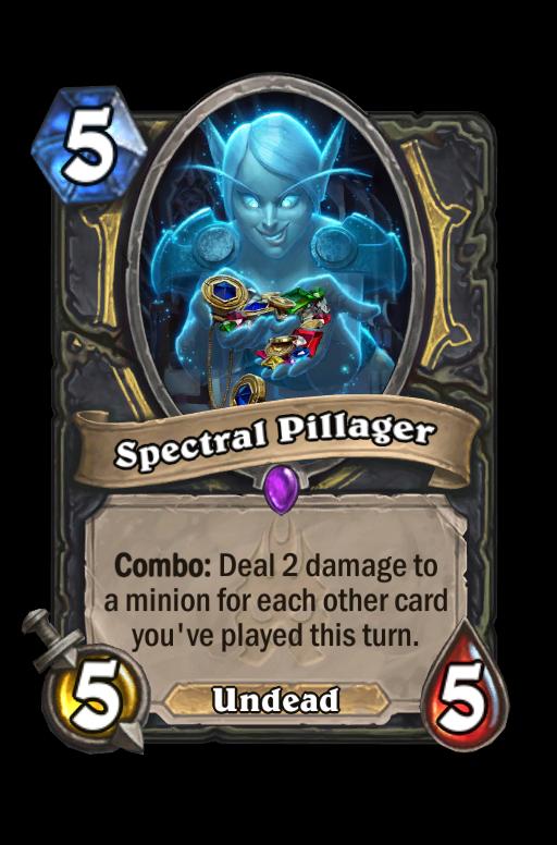 Spectral Pillager Hearthstone kártya