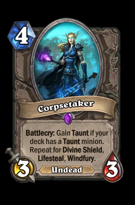 Corpsetaker Hearthstone kártya