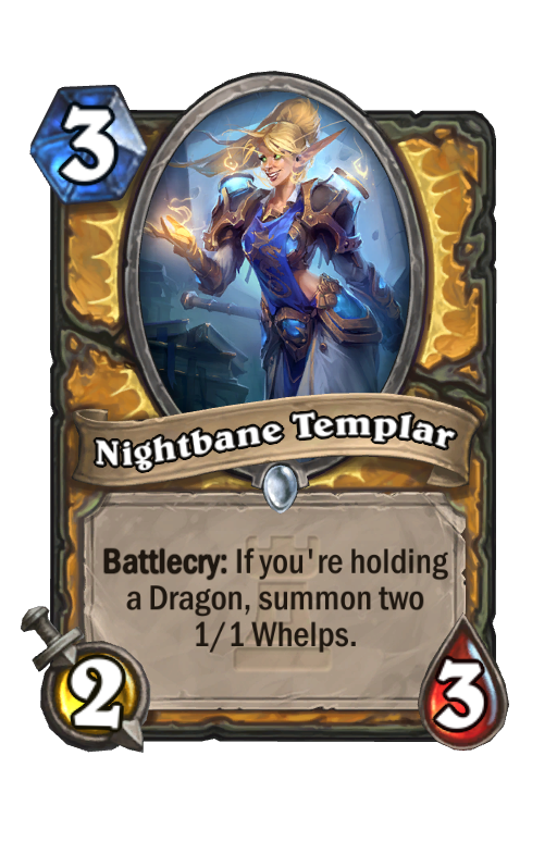 Nightbane Templar Hearthstone kártya