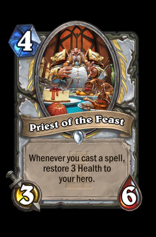 Priest of the Feast Hearthstone kártya