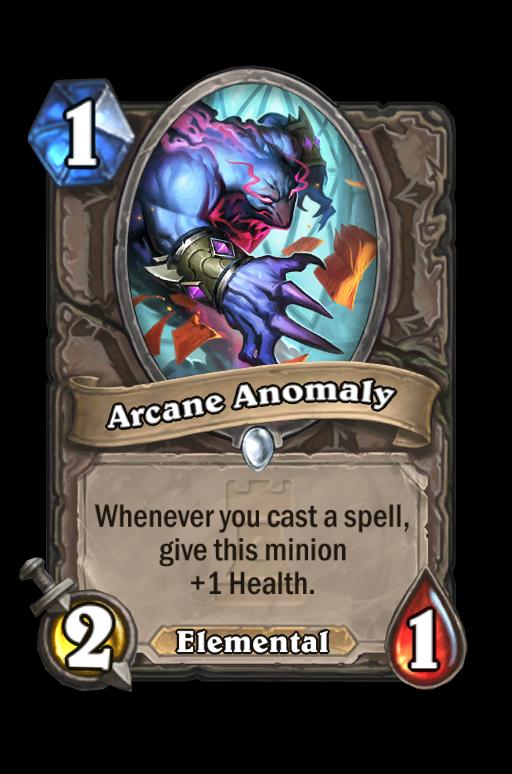 Arcane Anomaly Hearthstone kártya
