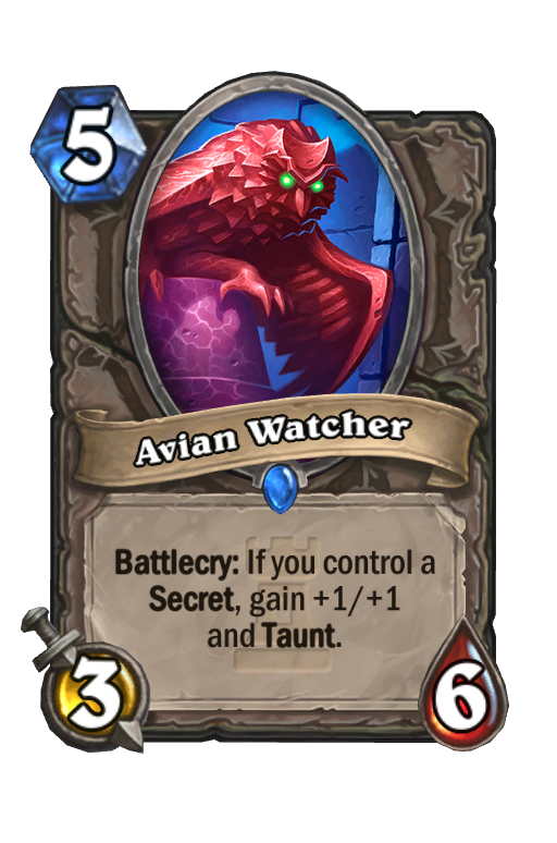 Avian Watcher Hearthstone kártya