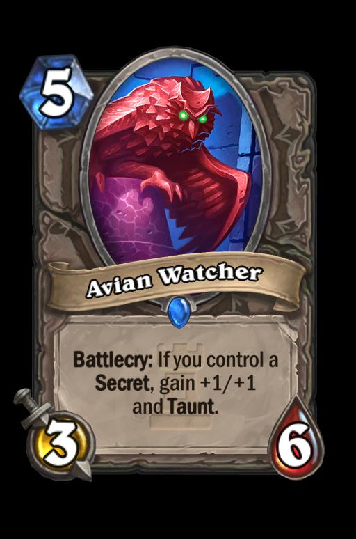 Avian Watcher Hearthstone kártya