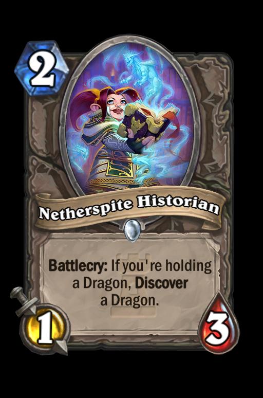 Netherspite Historian Hearthstone kártya