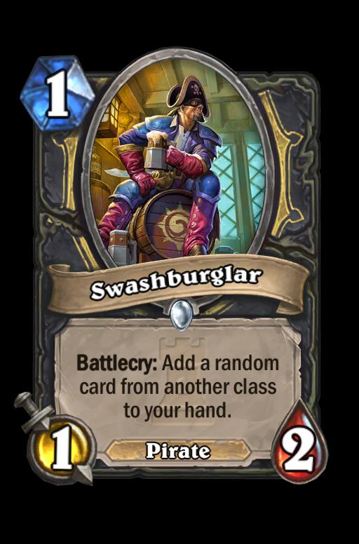 Swashburglar Hearthstone kártya
