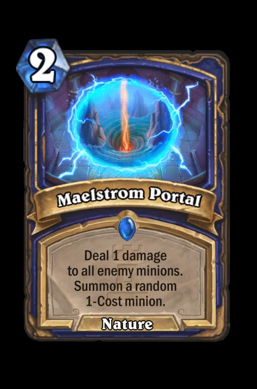 Maelstrom Portal Hearthstone kártya