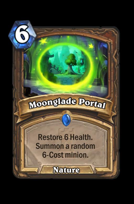 Moonglade Portal Hearthstone kártya