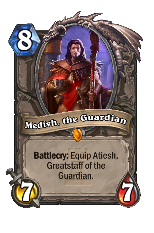 Medivh, the Guardian Hearthstone kártya