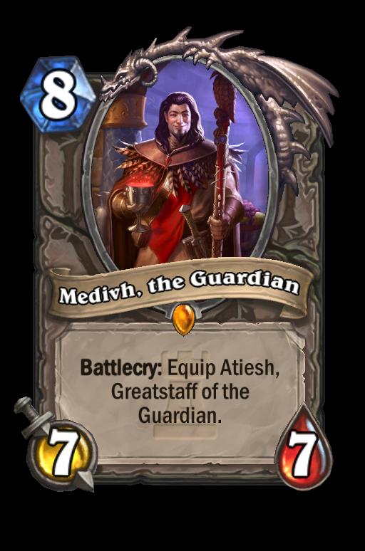 Medivh, the Guardian Hearthstone kártya