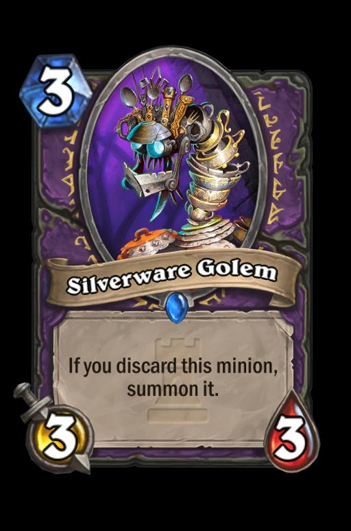 Silverware Golem Hearthstone kártya