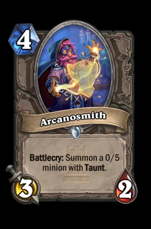 Arcanosmith Hearthstone kártya