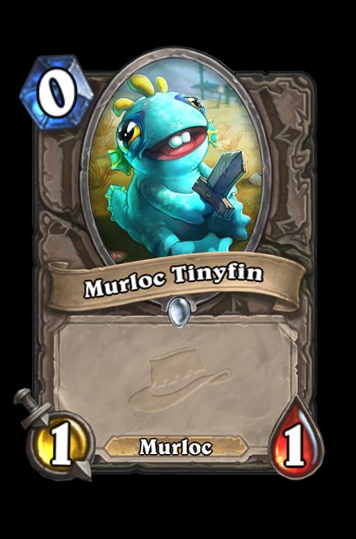 Murloc Tinyfin Hearthstone kártya