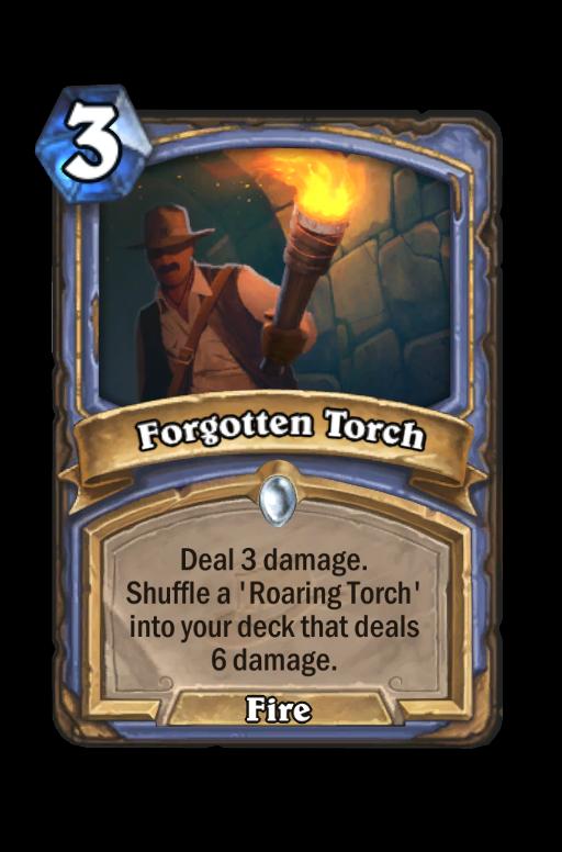 Forgotten Torch Hearthstone kártya