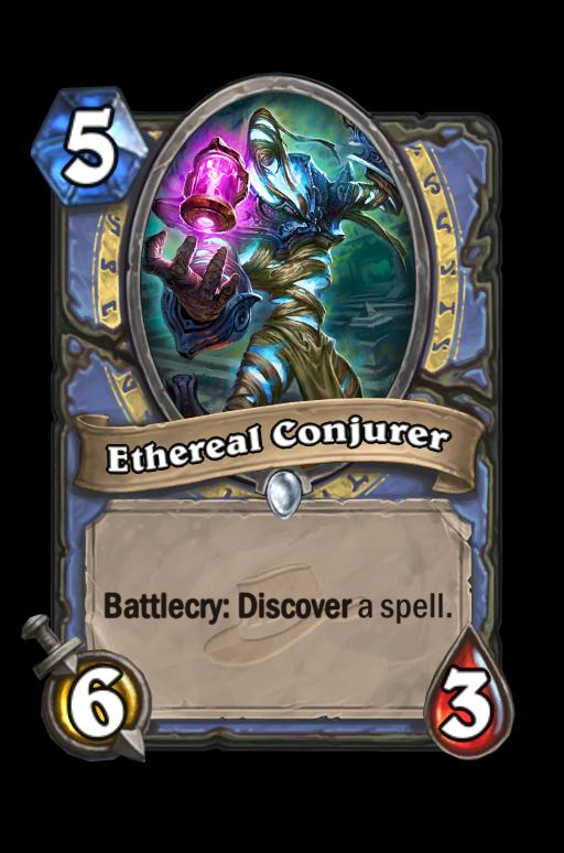 Ethereal Conjurer Hearthstone kártya