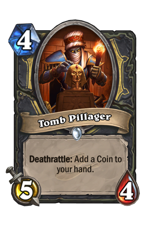 Tomb Pillager Hearthstone kártya