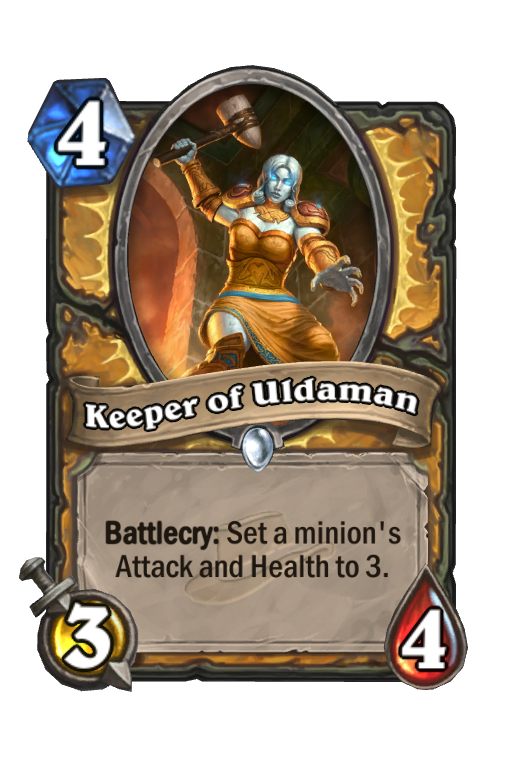 Keeper of Uldaman Hearthstone kártya