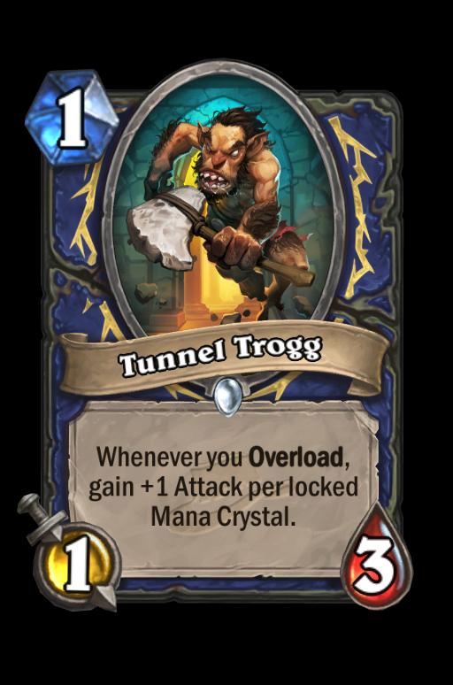 Tunnel Trogg Hearthstone kártya