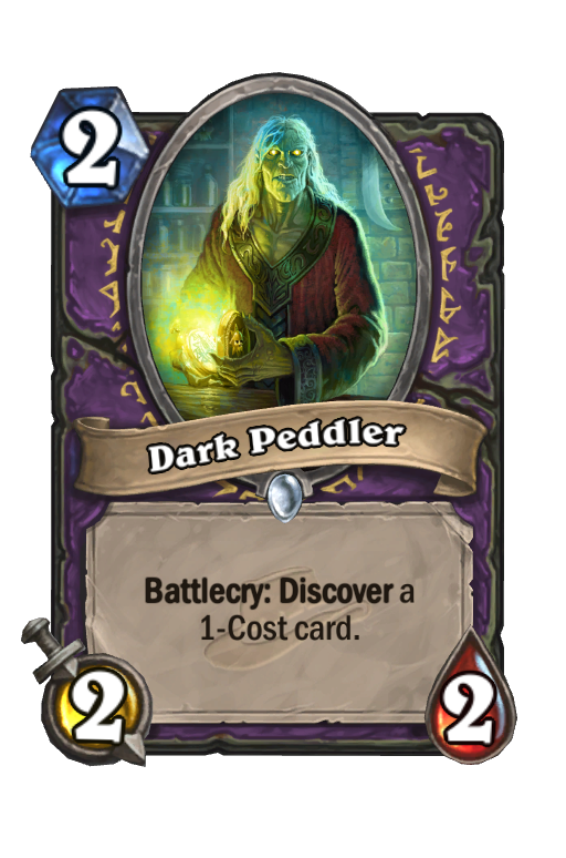 Dark Peddler Hearthstone kártya