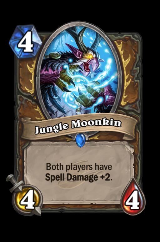 Jungle Moonkin Hearthstone kártya