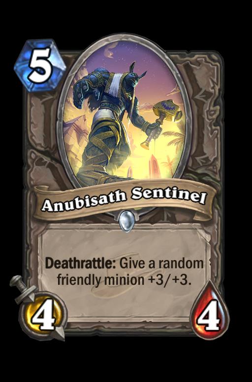 Anubisath Sentinel Hearthstone kártya