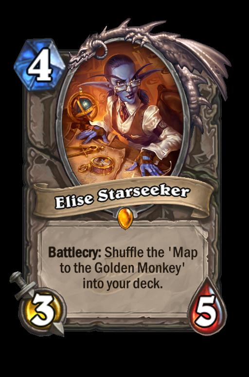 Elise Starseeker Hearthstone kártya